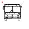 Стекло ветровое ЛИАЗ-5256М бесцветное правое