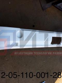 Бампер задний (ПАЗ-Вектор) без заглушки (РАП) 320412-05-110-001-2804010