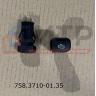 Клавиша выключатель подогревателя двигателя (24V) 758.3710-01.35