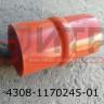 Патрубок интеркуллера большой ПАЗ-3204 (L=165мм, d=75мм) 4308-1170245-01