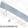 Стекло окна боковины №4 левое  320405-04-5403083-02