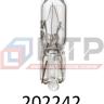 Лампа накаливания SCT 202242 (W1.2W 24V W2.1*4.5d) (20шт/кор), , уп