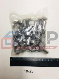 Заклепки алюминиевые ф10х28мм (64 шт.), , компл